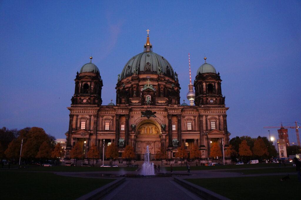 Berliner Dom at Dusk