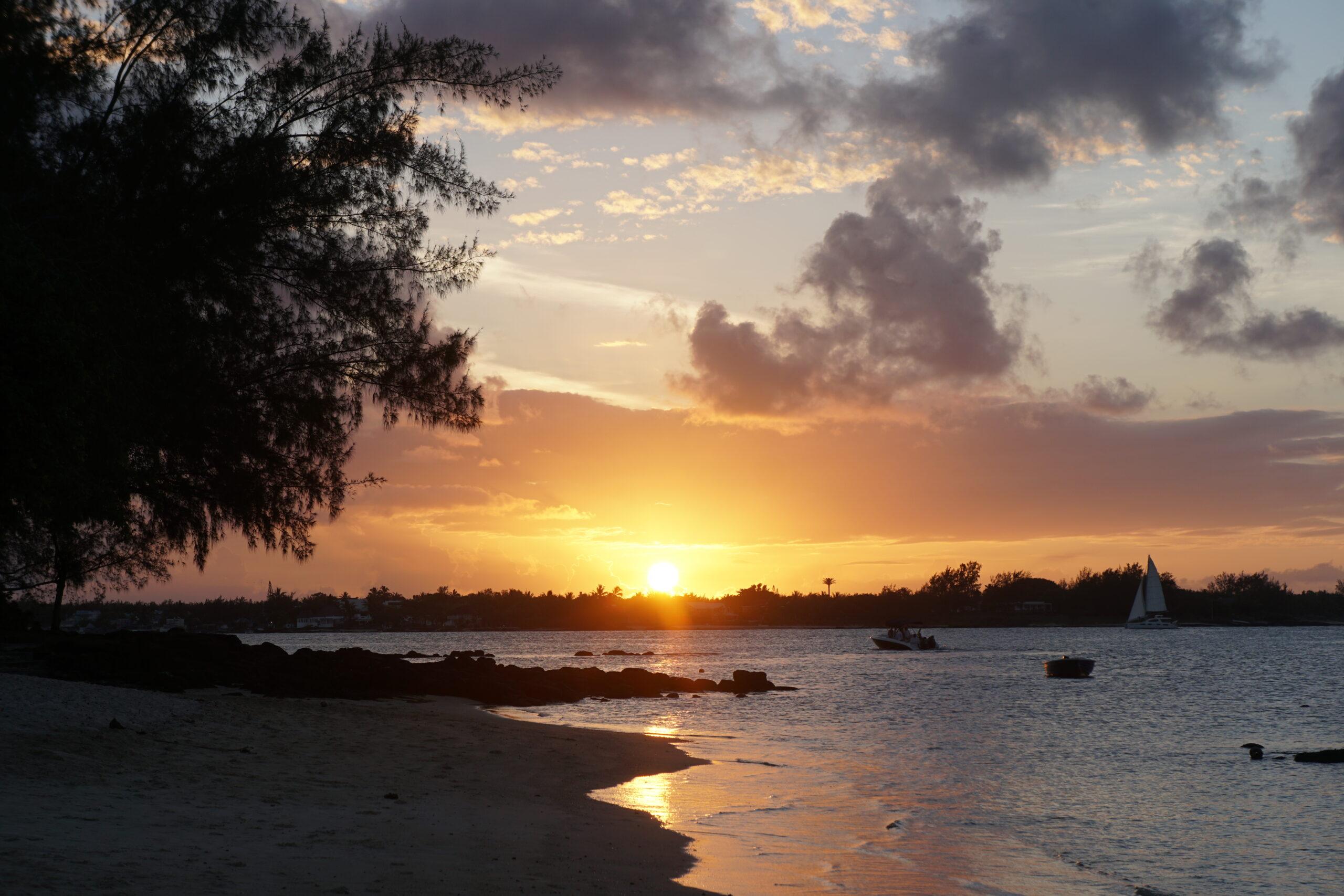 Sunset Mauritius